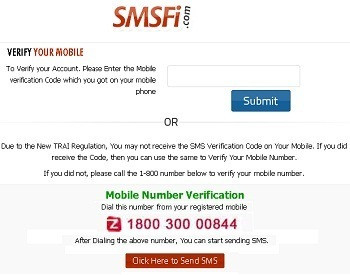 Smsfi.com: Send Free Mobile SMS to India