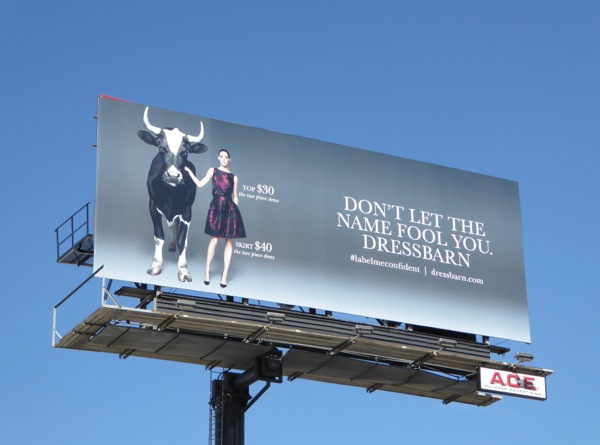 Dress Barn Don't let the name fool you billboard