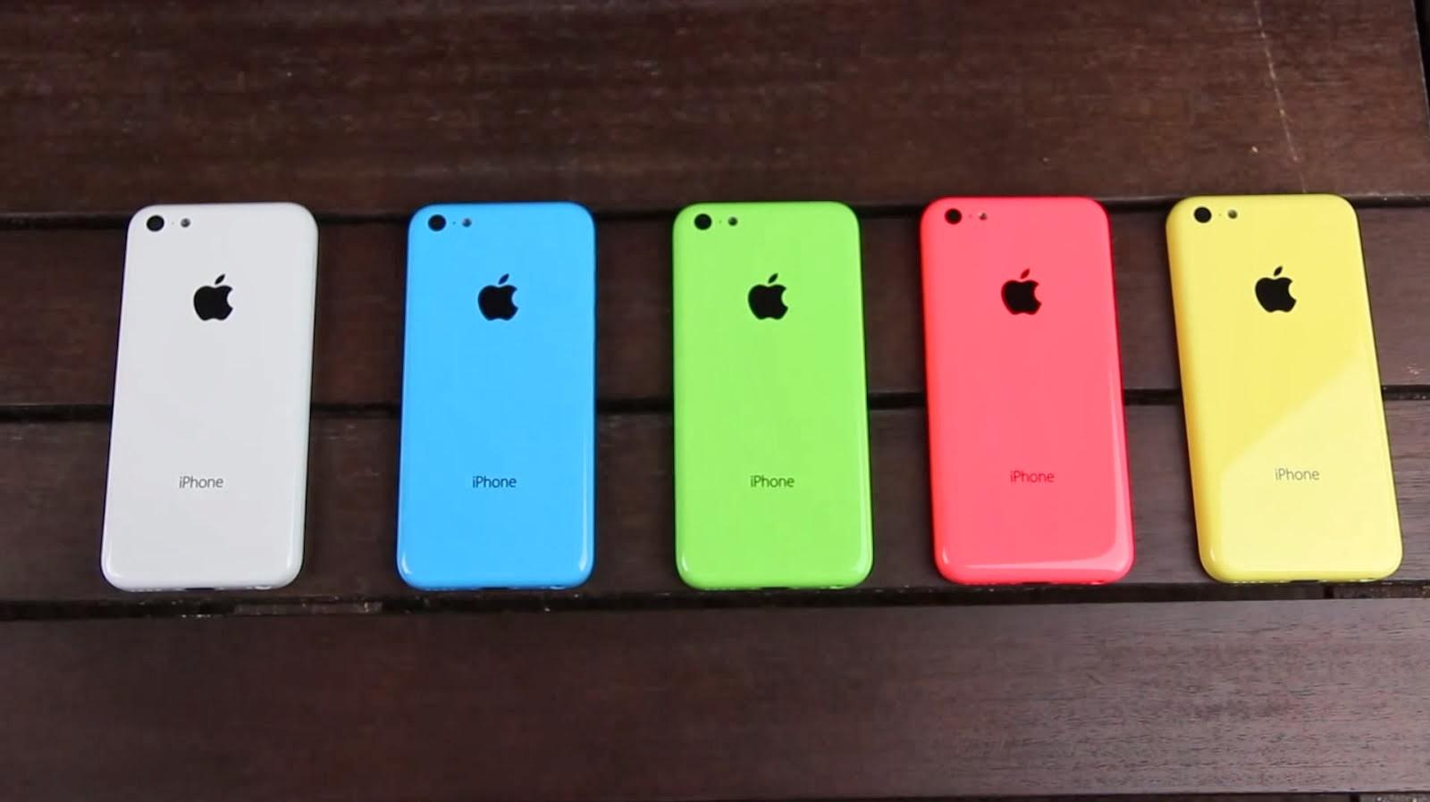 iPhone 5c Latest Colours!