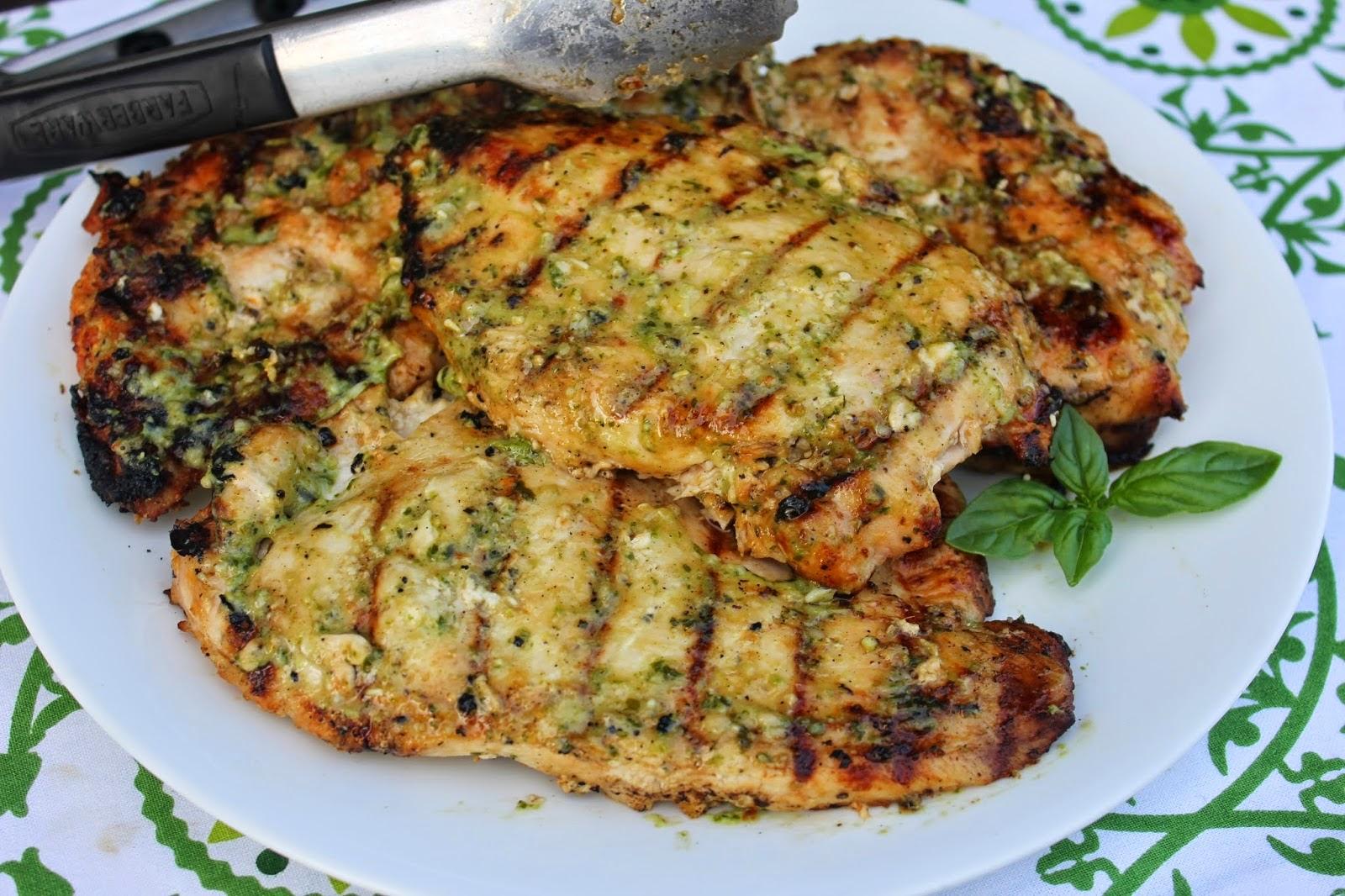 ... Chicken, Recipe: Pasta, pesto chicken marinade, pesto chicken pasta
