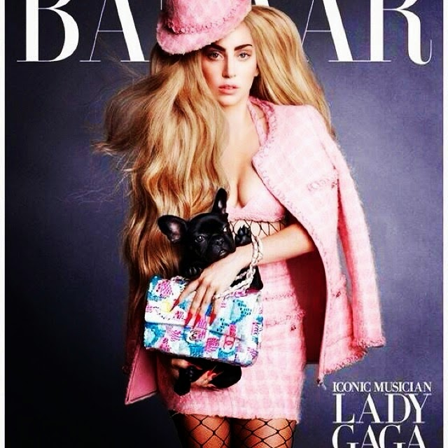 Lady Gaga on The Cover of Harper's Bazaar's September Issue