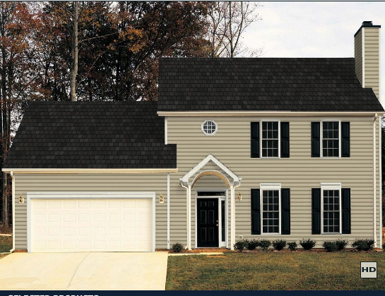 Northdixie designs certainteed vinyl siding update barn for Certainteed siding