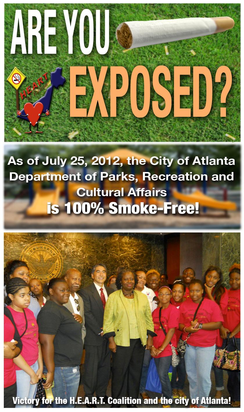 Smoke Free Parks | Atlanta, GA
