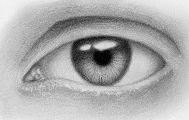 Cara Menggambar Mata Realistik dan Mirip dengan aslinya