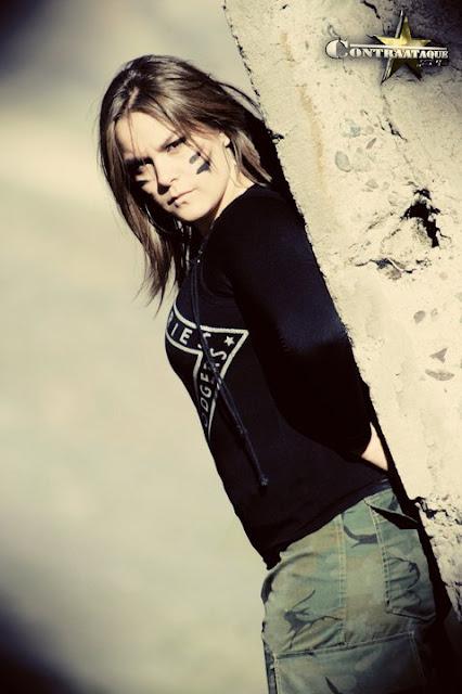 Alison Evans - Chilean Luchadora