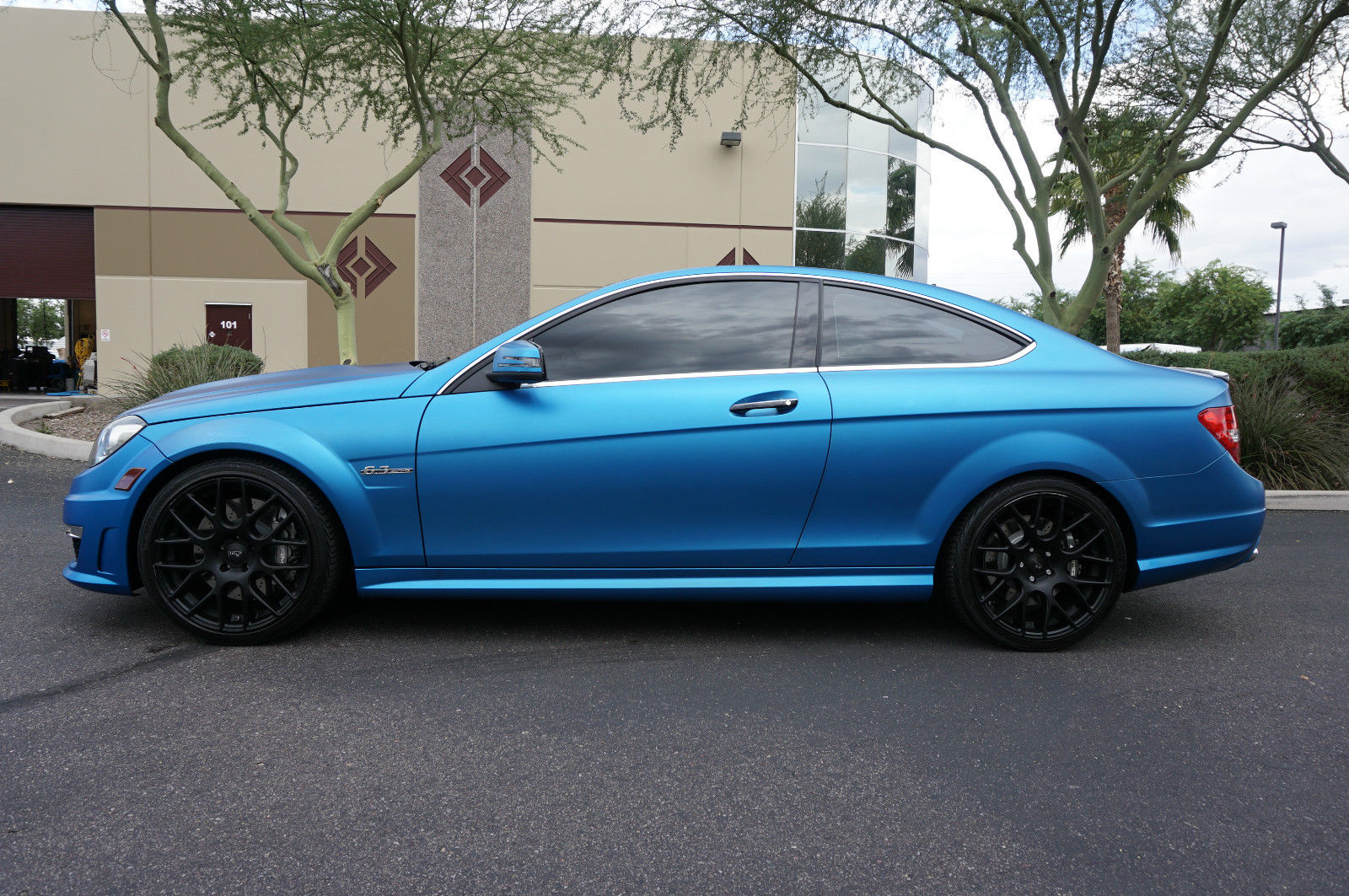 Mercedes benz c63 amg coupe on niche wheels benztuning for Mercedes benz c63 convertible