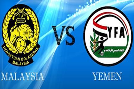 Keputusan Malaysia vs Yemen 22 Mac 2013 - Kelayakan Piala Asia 2015