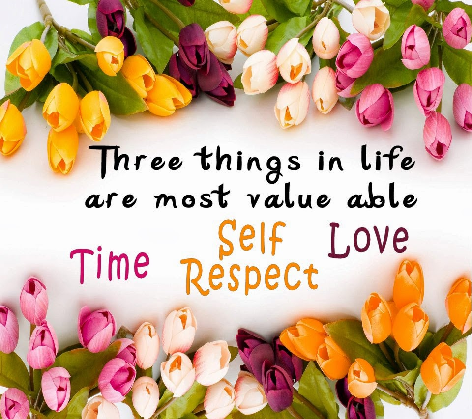 Time Self Respect Love Wallpapers