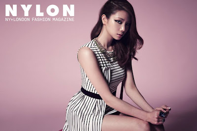 Kaeun After School - Nylon Magazine August Issue 2013