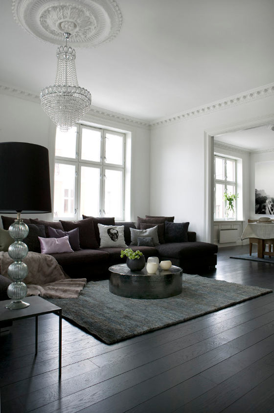 Black interiors inspiration via desire to inspire