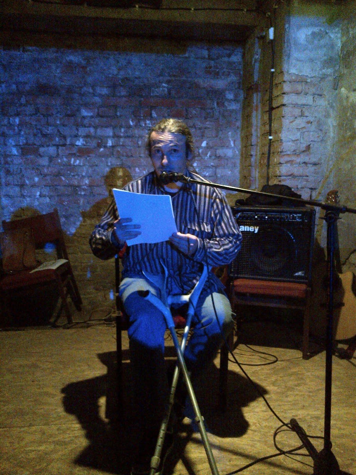 Čtení v Klubu Les - Ostrava 24.6.2015