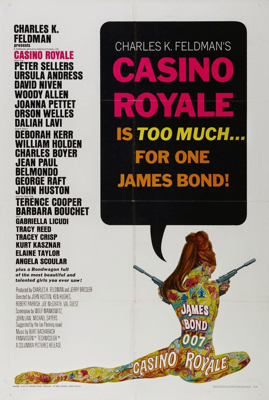 El Acorazado Cinéfilo - Le Cuirassé Cinéphile: CASINO ROYALE (1967) John Huston et al. Alejandro ...