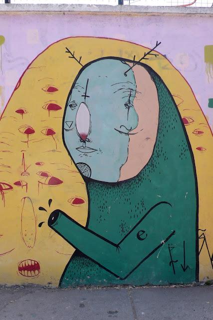 street art in santiago de chile recoleta arte callejero
