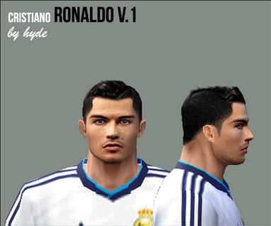 Link Download Face Cristiano Ronaldo V.1 Juli 2012 by hyde - PES 6 :