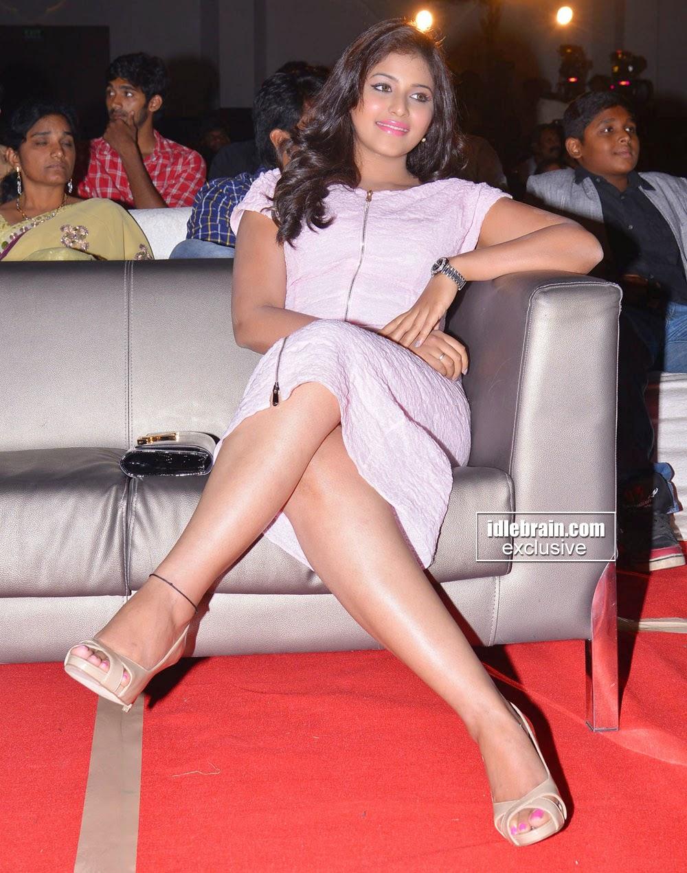 tamil actress crossed legs