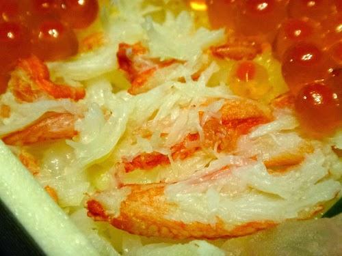 魅せる海鮮かにといくらの市松寿司
