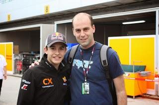 Marc Marquez en el circuito de Losail