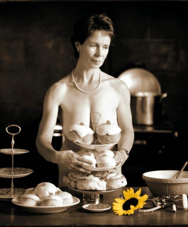 Celia Imrie dans Calendar Girls, de Nigel Cole (2002)