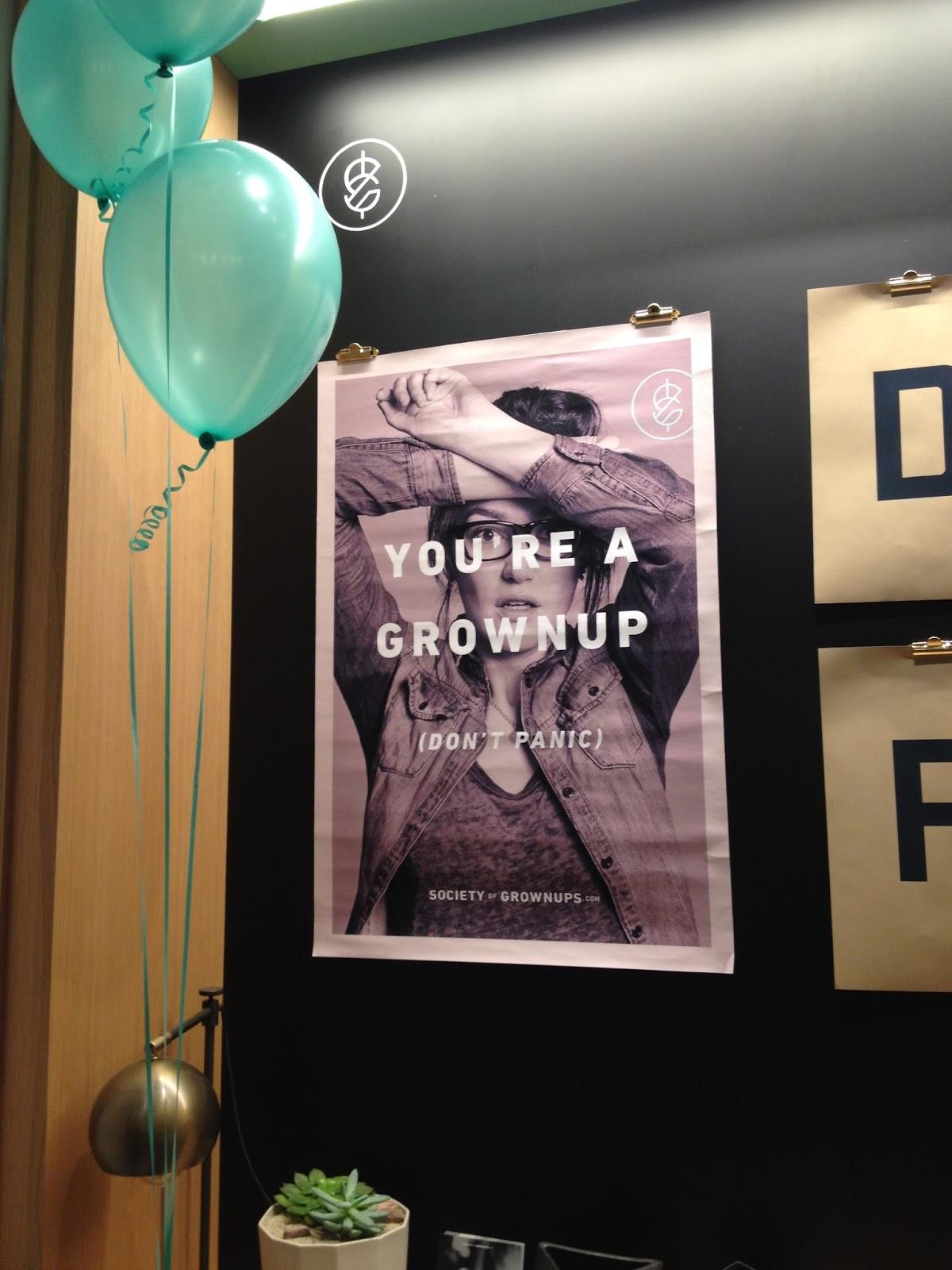 society of grownups
