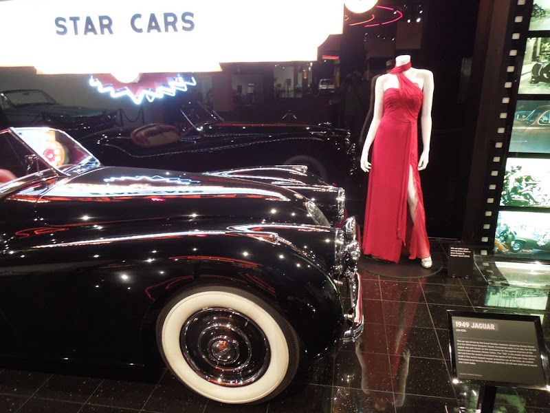 Gangster Squad Jaguar Emma Stone gown