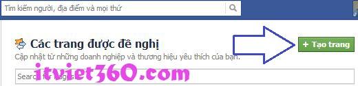 Cách tạo lập trang (Fan page) trên facebook (FB). hướng dẫn tạo fan like người hâm mộ