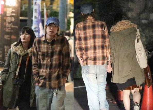 Ai Hashimoto with cool, fun, spoiled, Boyfriend Motoki Ochiai