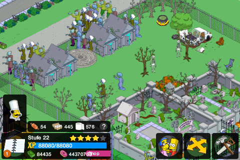 Simpsons Tapped Out Springfield