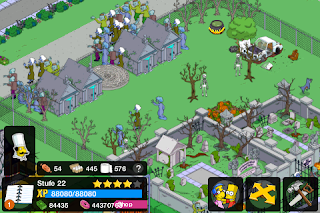 Donut Hack für Simpsons Springfield Tapped Out App