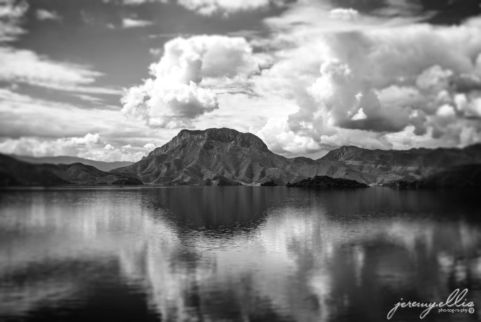 Lion Mountain in Lugu Lake