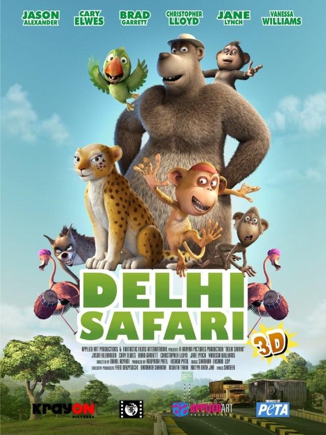 Ver Delhi Safari (2012) Online