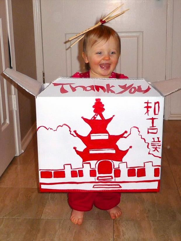 Chinese Take Out Box Kid Halloween Costume