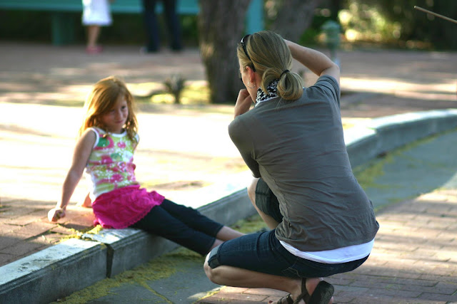 Photographing Child