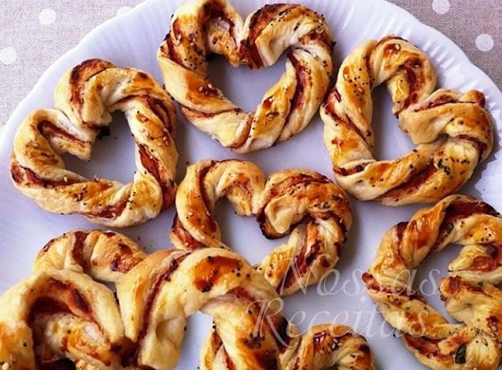 Receita de pão salgadinho tipo pretzel