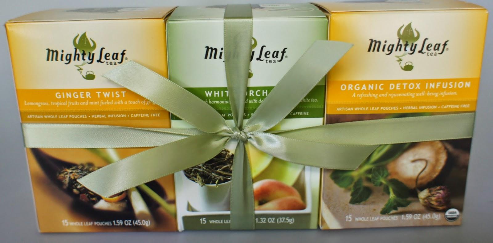 Enter the Mighty Leaf World Flavors Tea Sampler Giveaway. Ends 4/29.