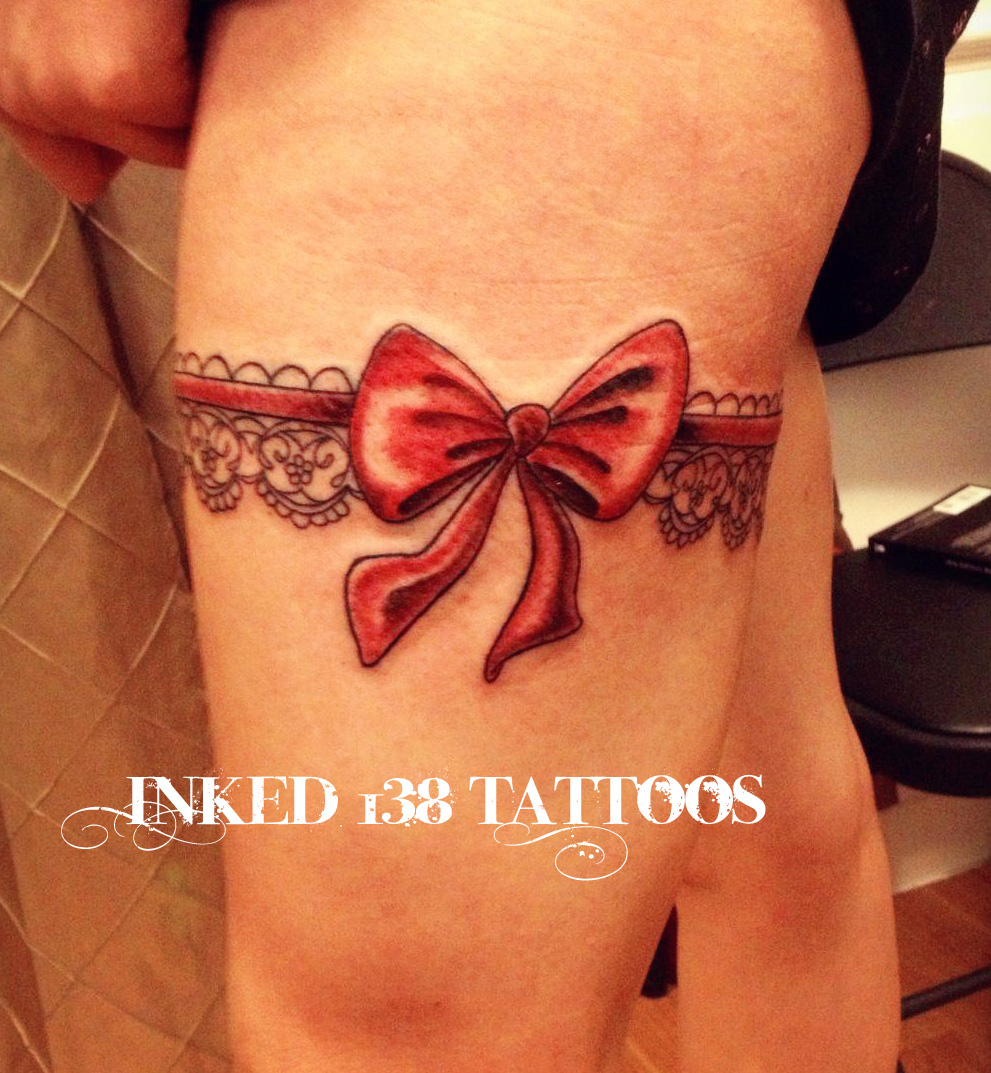 Inked138 tattoos garter belt tattoo for Garter tattoo templates