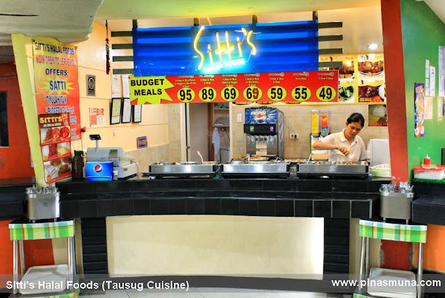 Sitti's Halal Foods in Viramall Greenhills serving authentic Tausug cuisine