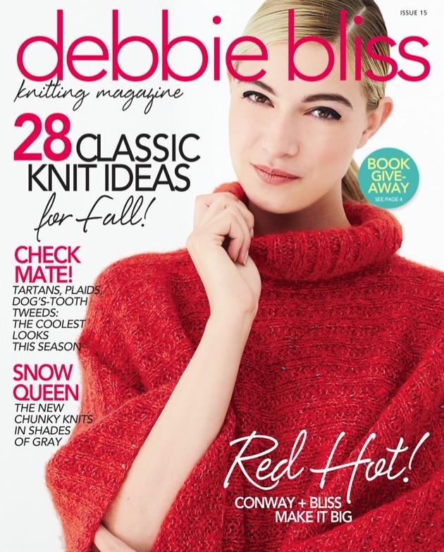 The Knitting Needle And The Damage Done Debbie Bliss Knitting Magazine