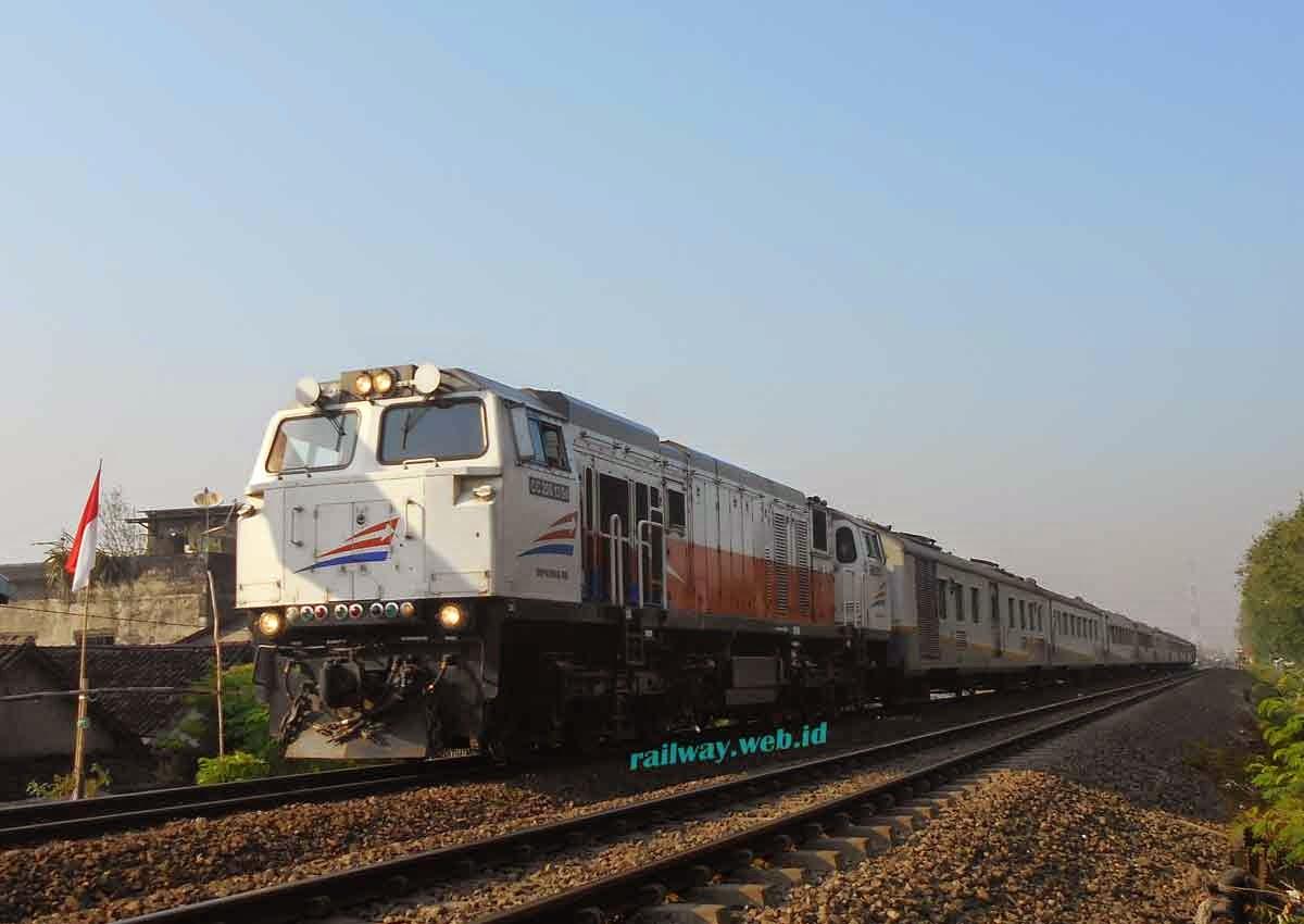 gambar kereta api turangga