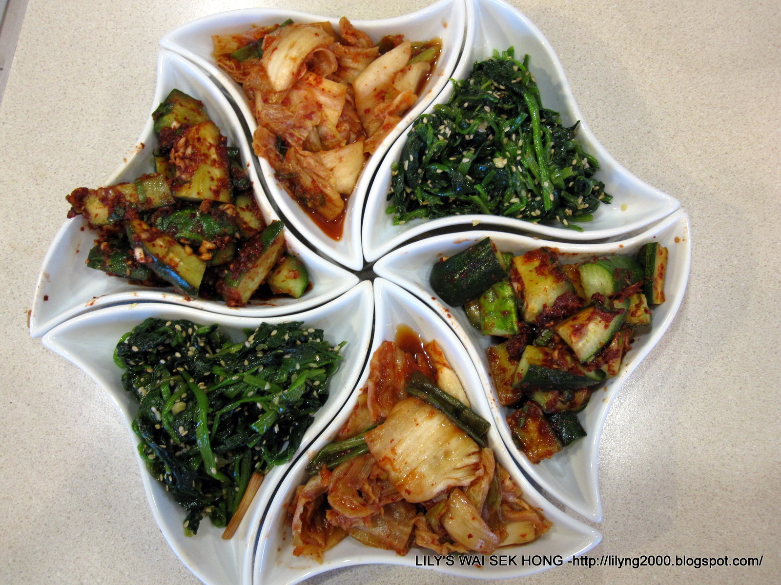 how to cook korean spinach side dish
