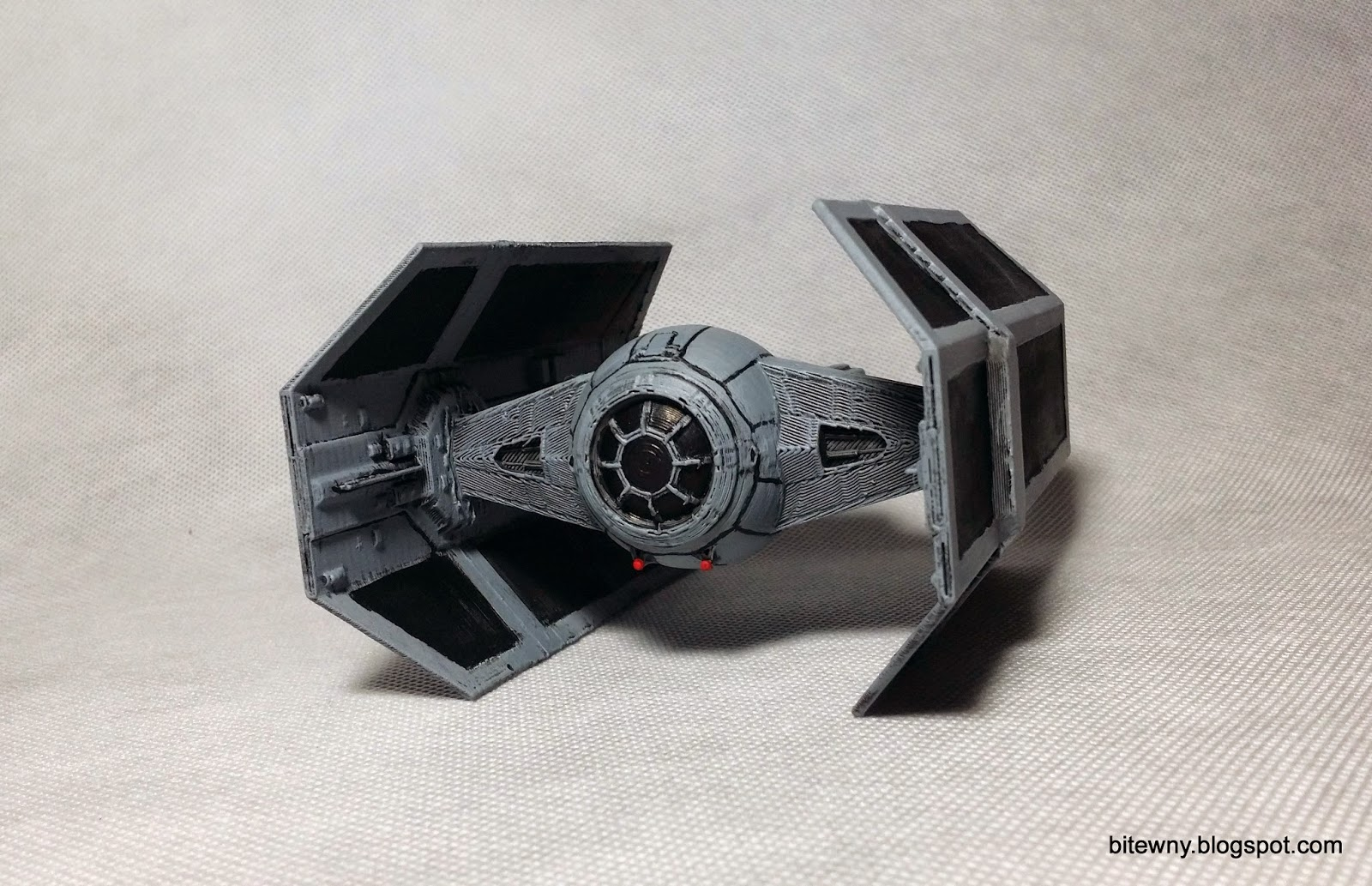 Star Wars Tie Advanced X1 printed 3d
