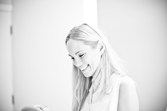 girl laughing, wedding day, happiness