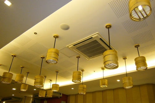 Dimsum Break interiors lights