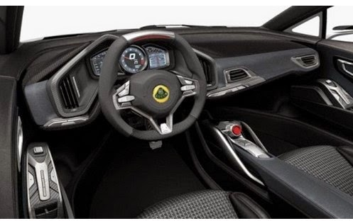 2015 Lotus Esprit Superleggera interior