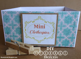 DIY Craft Supply Storage Boxes