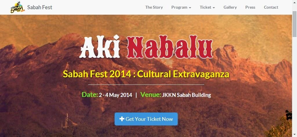 Aki Nabalu Sabah Fest 2014: Cultural Extravaganza