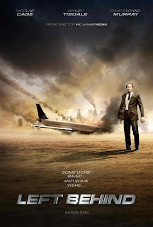 Left Behind, movie, remake, Nicolas Cage, Ashley Tisdale, Chad Michael Murray, poster