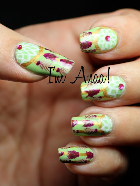 The Astounding Dreamcatcher nail designs Photo