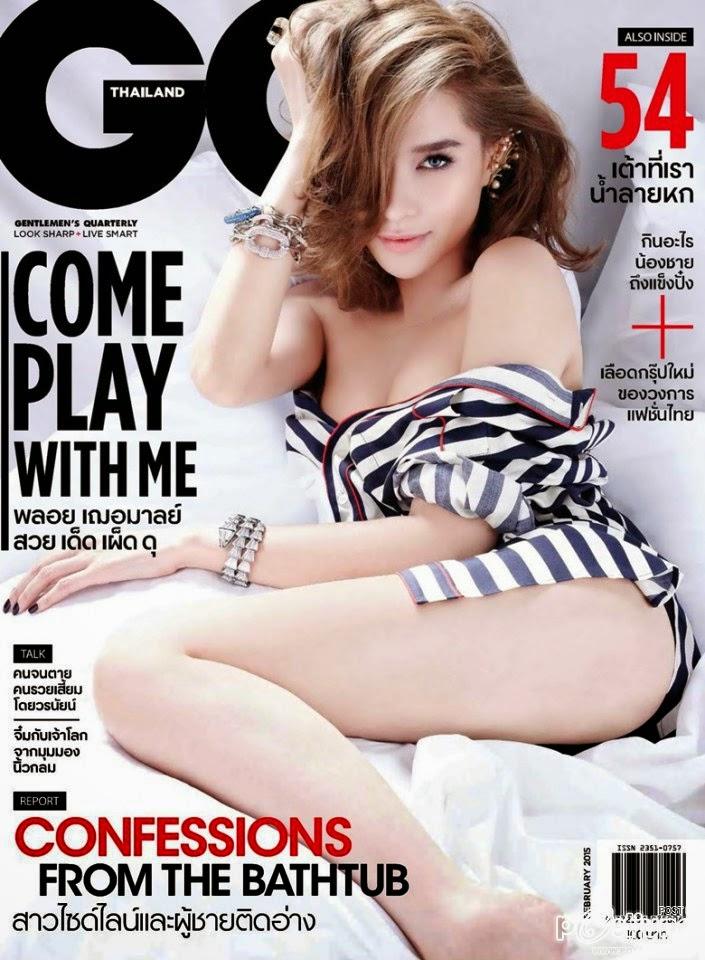 Actress, Model: Laila Boonyasak For GQ Thailand