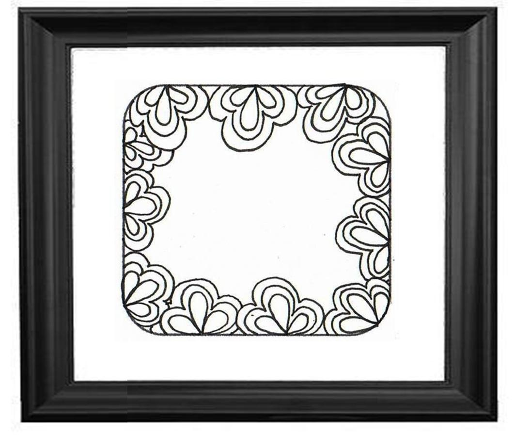 border designs for paper easy borders to hand draw easy border designsVery Simple Border Designs To Draw