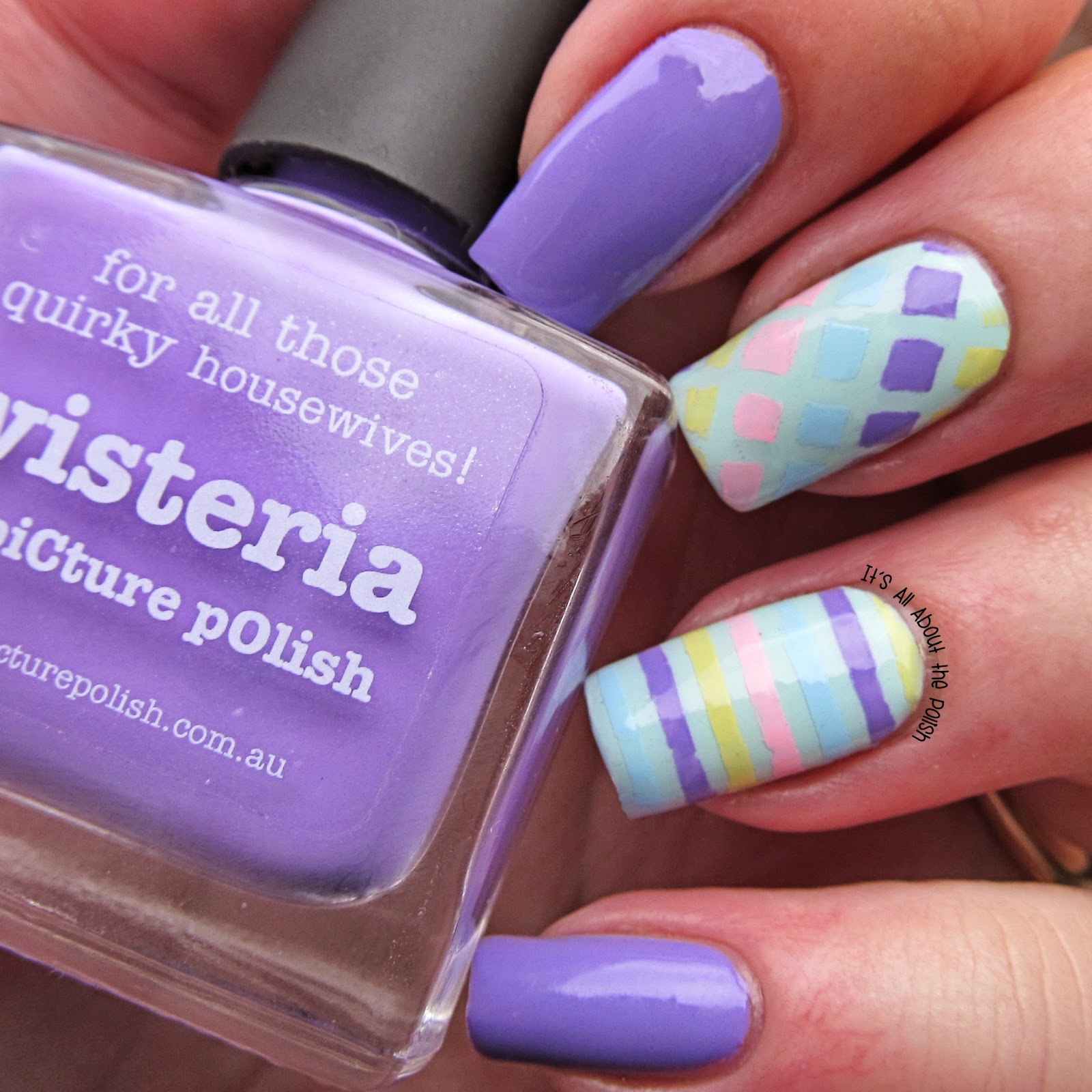 It\'s all about the polish: Pastel Easter Nail Art